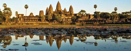 Angkor Wat Tempel - Siem Reap, Cambodja
