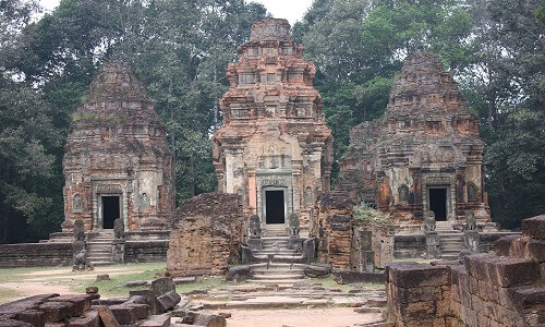 Preah Ko Graftempel - Siem Reap, Cambodja