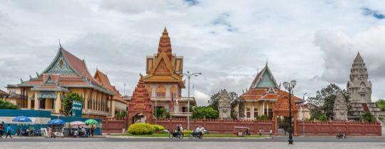 Wat Ounalom - Phnom Penh, Cambodja